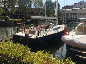 The Contest 57cs at St Katherine's dock